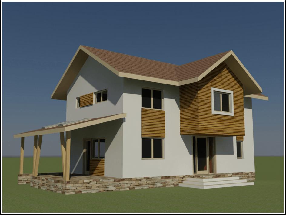 proiectul casei de la munte