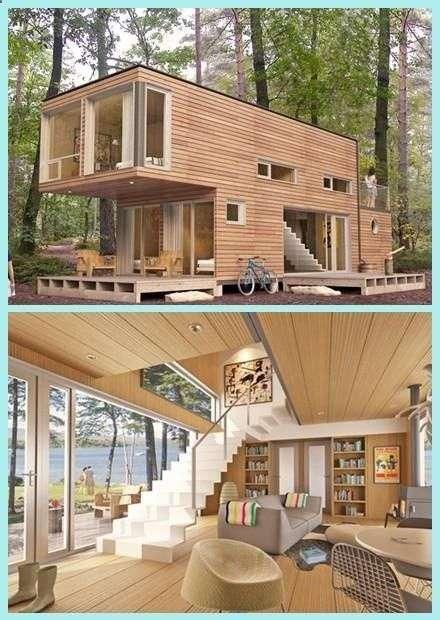 Analiza casei din containere pentru locuit sau vacanta for Maison container nc
