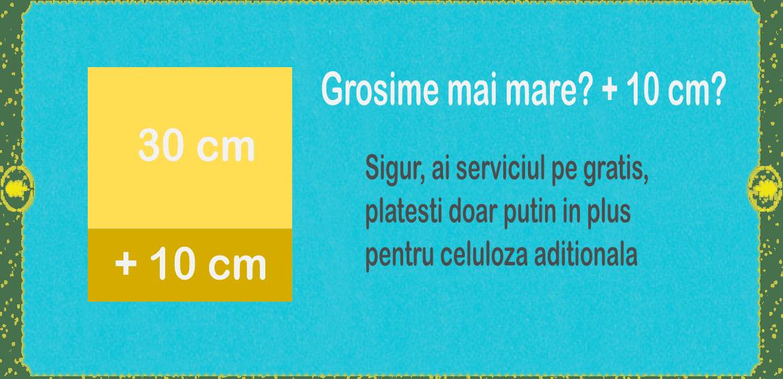 grosime 40 cm celuloza