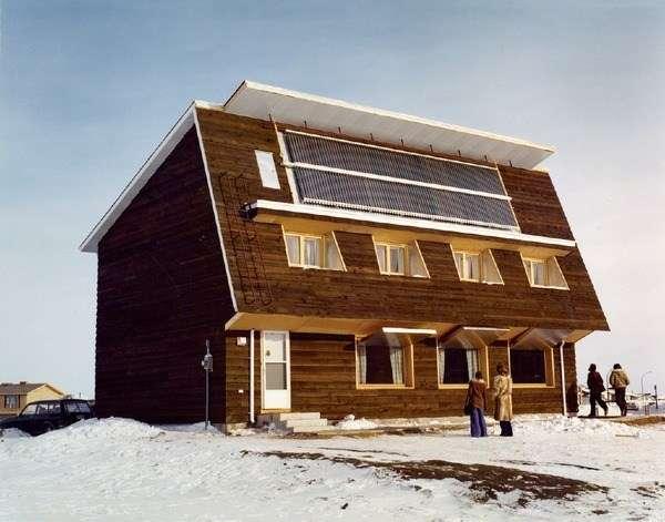 Saskatchewan Conservation House izolata cu celuloza
