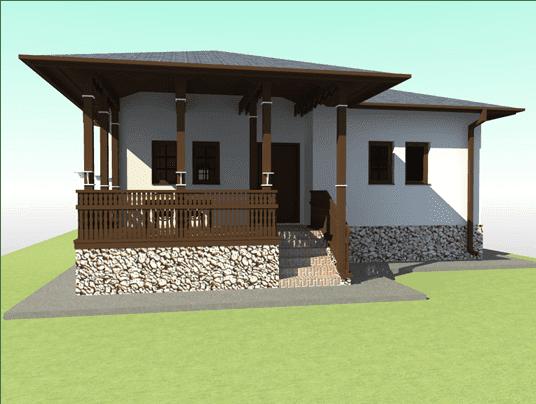 Casa in stil romanesc vatada sud