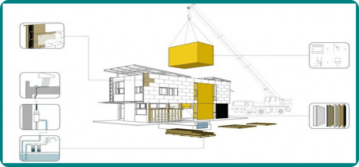 50 case de lemn prefabricate