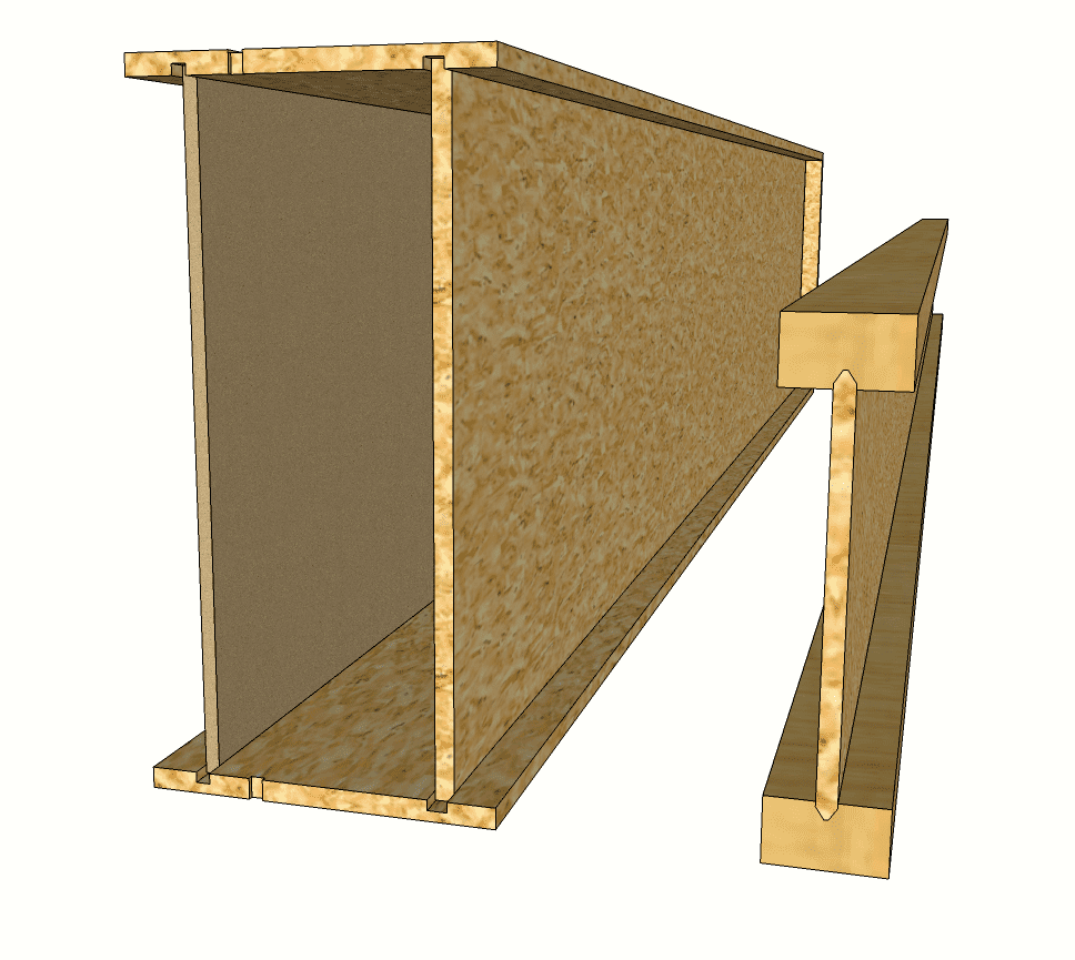 Blokiwood element