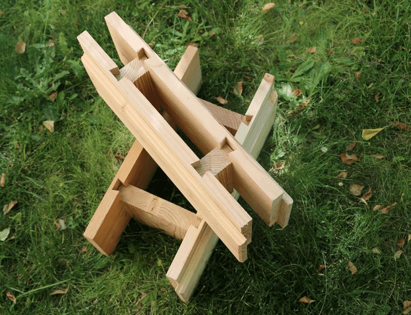 Brikawood caramizi din lemn