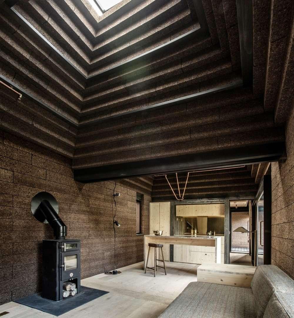 Casa de pluta interior