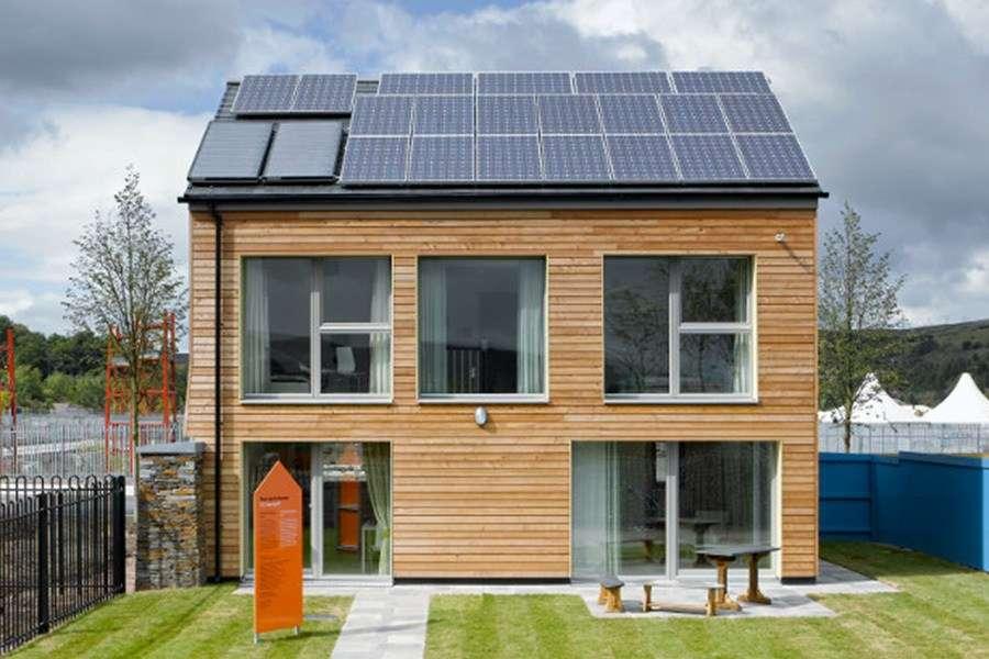 Casa din lemn eficienta energetic