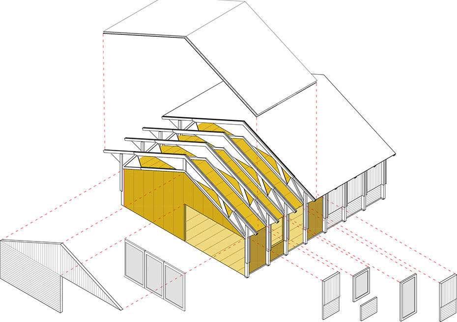 Izolarea termica a structurii de lemn