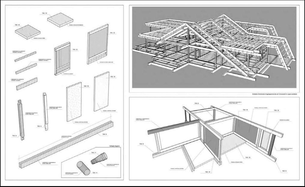 Structura de lemn Pagano