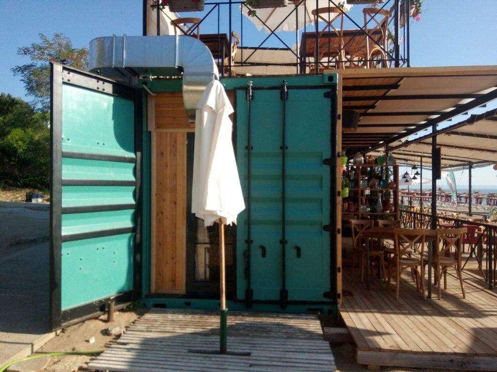 Instalatia de ventilare a containerului