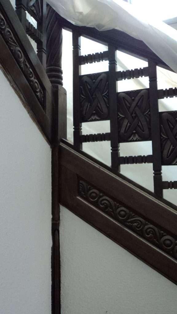 Scara de acces catre etaj 3