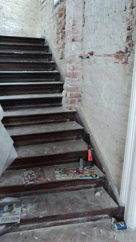 Scara de acces catre etaj 1