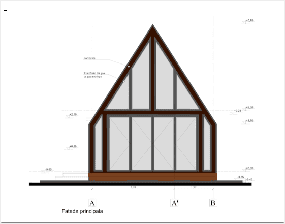 fatada principala casa mobila